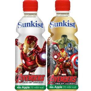 *即期促銷價*韓國Sunkist蘋果飲料 MARVEL英雄 復仇者聯盟 包裝圖案 [KR187]
