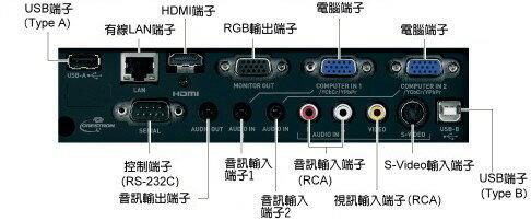 AviewS-CASIO XJ-H1700投影機/4000流明/XGA/免換燈泡,日本製造 4