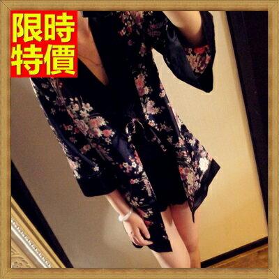 和服外套 和風罩衫-日式復古精美花色防曬小外套68af28【日本進口】【米蘭精品】
