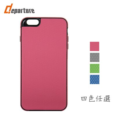 iphone 6 plus 格紋軟質 保護殼 TPU材質 輕薄環保 - 限時優惠好康折扣
