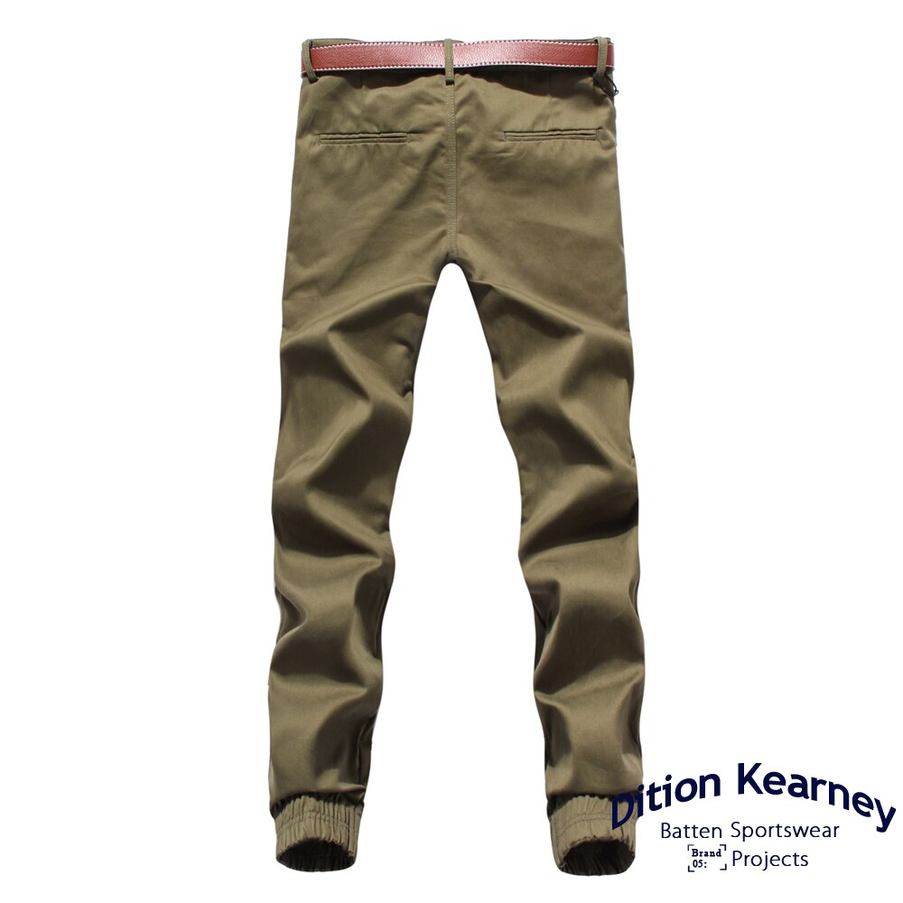 DITION   軍風釘釦JOGGER側口袋七分縮口褲 合身版 3