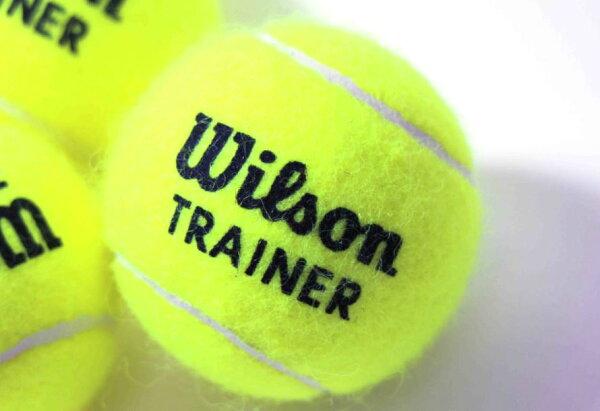 [陽光樂活] WILSON TRAINER 無壓練習球 一次購10顆含運不拆售 WRT132200