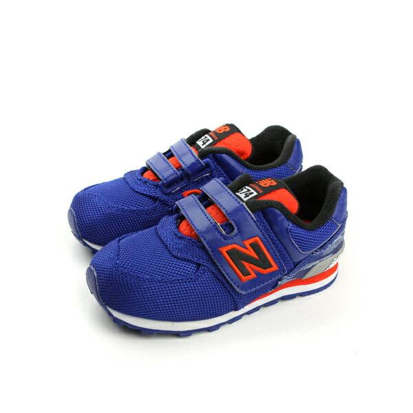 New Balance 574系列 跑鞋 藍 小童 no024
