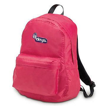 後背包 / deya-經典系列 經典後背包--玫瑰紅-男女學生潮包旅遊包 C1509 0