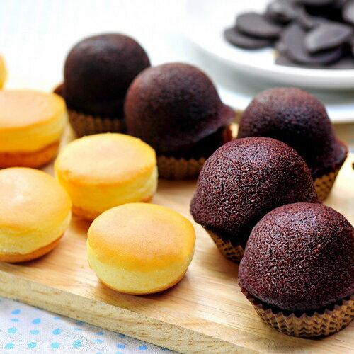 乳酪球32入 + 巧克力布朗尼12入