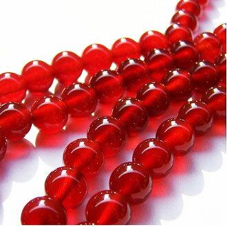 [紅瑪瑙A]天然寶石 8mm圓形珠 diy飾品散珠 - 限時優惠好康折扣