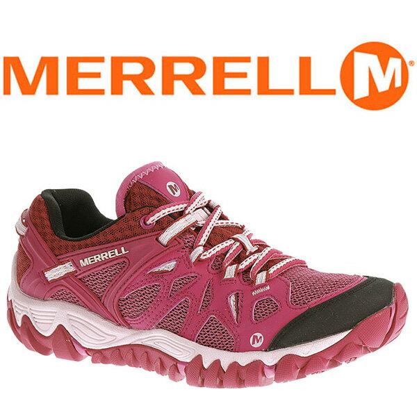 MERRELL ALL OUT BLAZE AERO 女 水陸兩棲鞋 桃紅 65034 登山鞋│健行鞋│休閒鞋