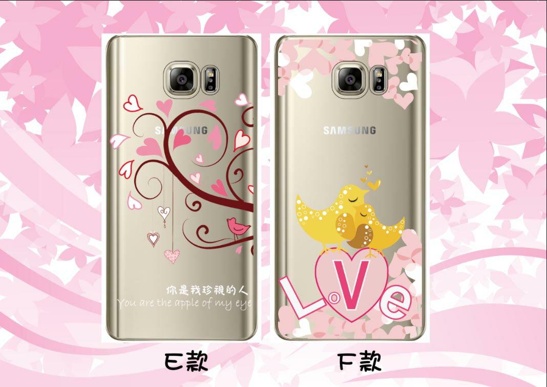 [Samsung] ✨ 愛系列透明軟殼 ✨[Note3,Note4,Note5,S6,S6 Edge,S6 Edge+,S7,J7,A5,A7(2016版),A8,A9(2016版),E7] - 限時優惠好康折扣