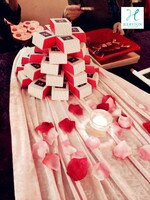 分享幸福的婚禮小物推薦喜糖_餅乾_伴手禮_糕點推薦免運【海斯頓法式甜點】幸福限定款婚禮小物馬卡龍.100入綜合口味(單顆獨立包裝)