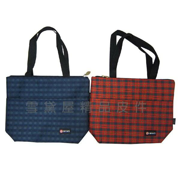 ~雪黛屋~BIYATI提袋簡易餐袋才藝袋手提袋簡單袋上學上班書包以外放置教具品雨衣傘便當袋台灣製造品質保證#5037