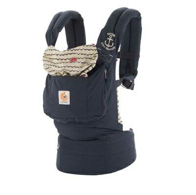 【送大地之愛有機護唇膏X1】美國【Ergo baby】基本款系列 嬰兒揹帶- 深藍水手 - 限時優惠好康折扣