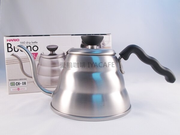 《愛鴨咖啡》 Hario VKB-100 不銹鋼 雲朵 細口壺 手沖壺 1000ml