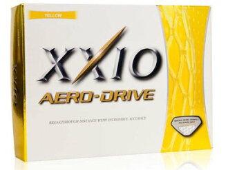 **三榮高爾夫** XXIO Dunlop  AERO DRIVE 高爾夫球 高反發遠距三層球 日本製 (黃色)
