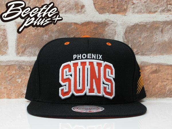 BEETLE MITCHELL&NESS SUN SNAPBACK 鳳凰城 太陽 NASH 黑橘 3M 反光 後扣棒球帽 MN-340