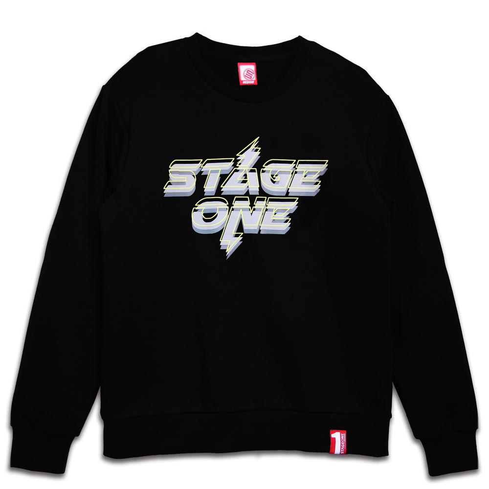STAGEONE THUNDER SWEATER 黑色 / 深紫色 兩色 5