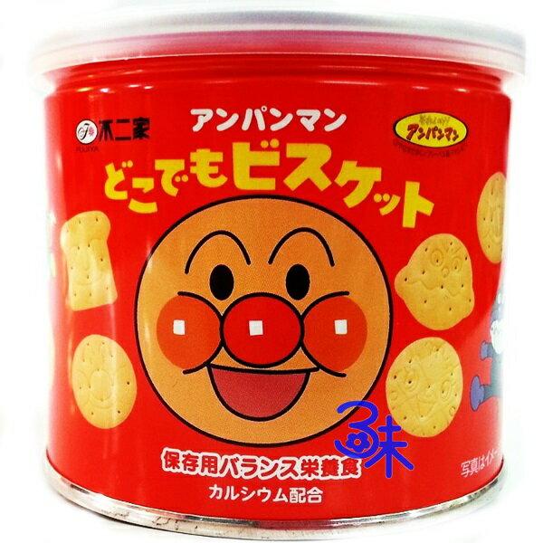 (日本) Fujiya 不二家 麵包超人 造型餅乾 保存罐 1罐 60 公克 特價 140 元 【4902555132792 】