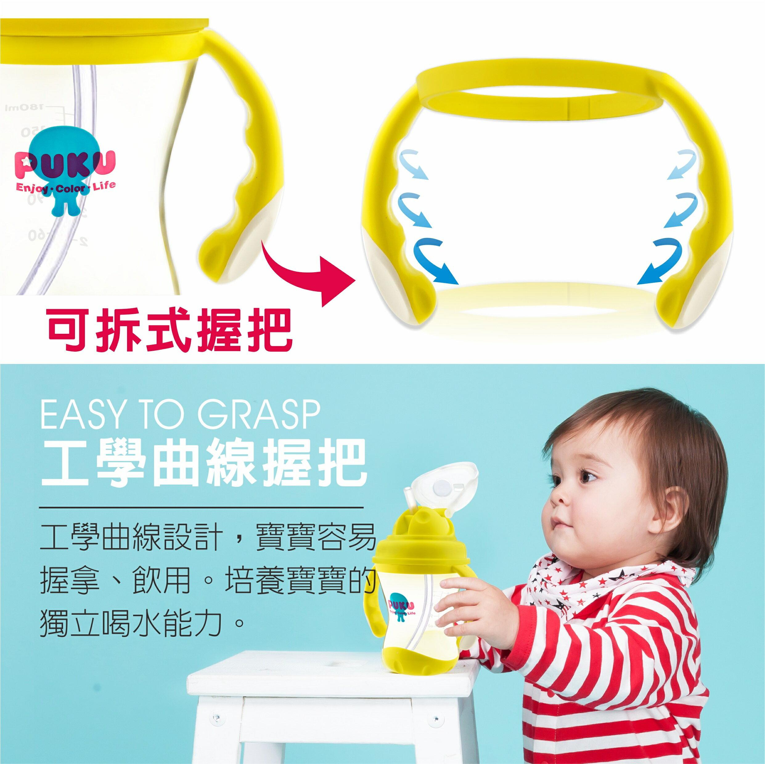 『121婦嬰用品館』PUKU 太空喝水練習杯 180ml 7