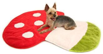 [Puppy Castle 帕彼創意寵物] Pet Paradise 日本 蘑菇造型地墊