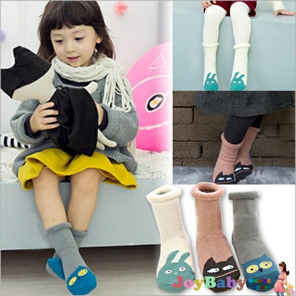 短襪/兒童全棉鬆口毛圈可愛卡通造型 棉襪男童襪女童襪【JoyBaby】