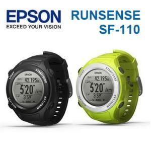 ➤路跑教練【和信嘉】EPSON Runsense SF-110 SF110運動手錶(綠/黑) 跑步訓練 運動感測器 (含手錶功能) 公司貨 原廠保固一年