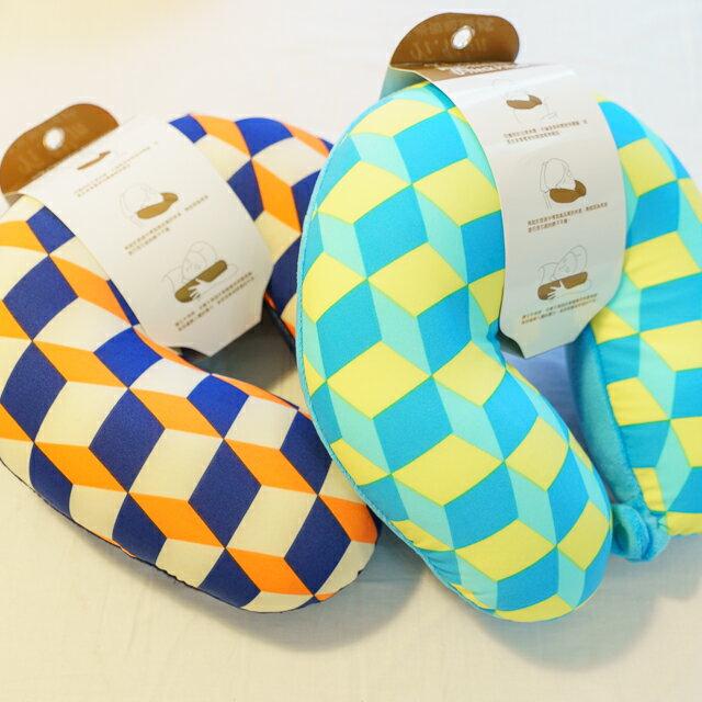 70年代普普風 頸枕  紓壓/休息 便利實用   3色可選 1