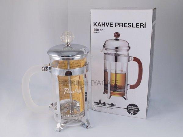 《愛鴨咖啡》PASABAHCE 法式濾壓壺 350cc