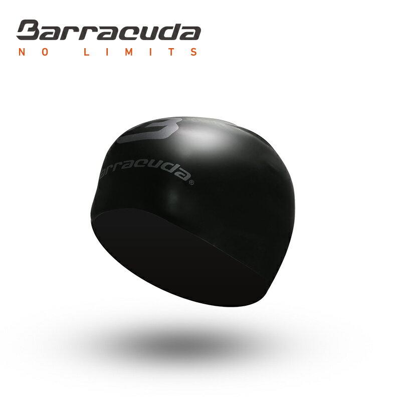 美國巴洛酷達Barracuda成人矽膠3D泳帽-黑色 - 限時優惠好康折扣
