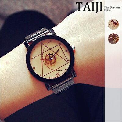 潮流手錶‧情侶款幾何齒輪指針潮流手錶‧四色~NXD047~~TAIJI ~  好康折扣