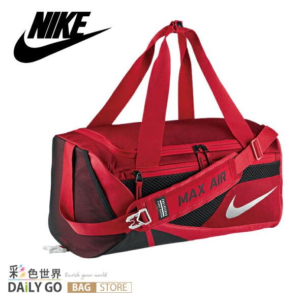NIKE 旅行袋 NIKE VAPOR 氣墊桶包 肩背包 側背包-紅 BA-5249-657