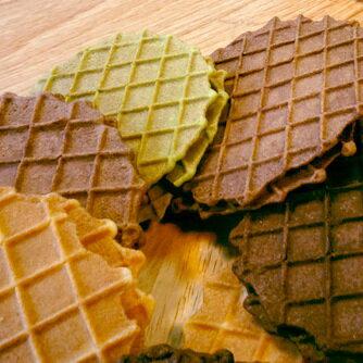 【握福夾心餅乾】(原味、抹茶、巧克力) 2入裝☆牛軋糖☆下午茶點心☆人氣商品♥Tommy's Waffle