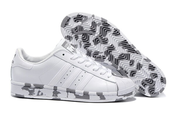 Adidas Originals Superstar Marble 2016 男女情侶鞋 (白斑馬36-44)