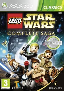 XBOX 360 樂高星際大戰武林大會(含數十種人物載具技能密碼)  Lego StarWars The Complete Saga -英文版-