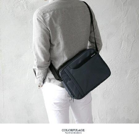 MIT大款側背包 實用百搭肩背包 防水尼龍布材質 硬挺質感 柒彩年代【NZ490】台灣製造品質保證 - 限時優惠好康折扣