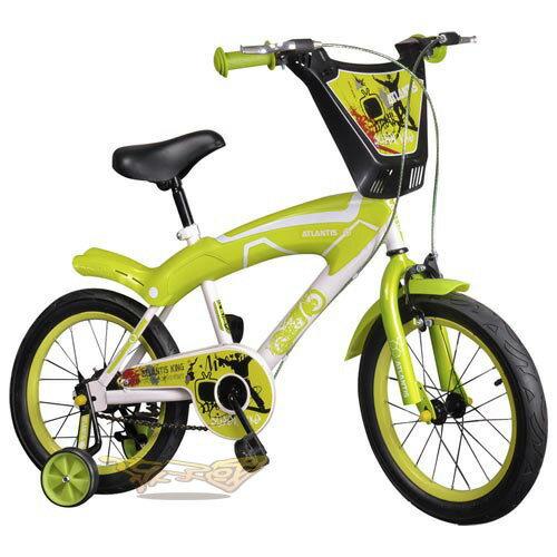 【孩子國】16吋街頭塗鴉兒童腳踏車/自行車-綠色