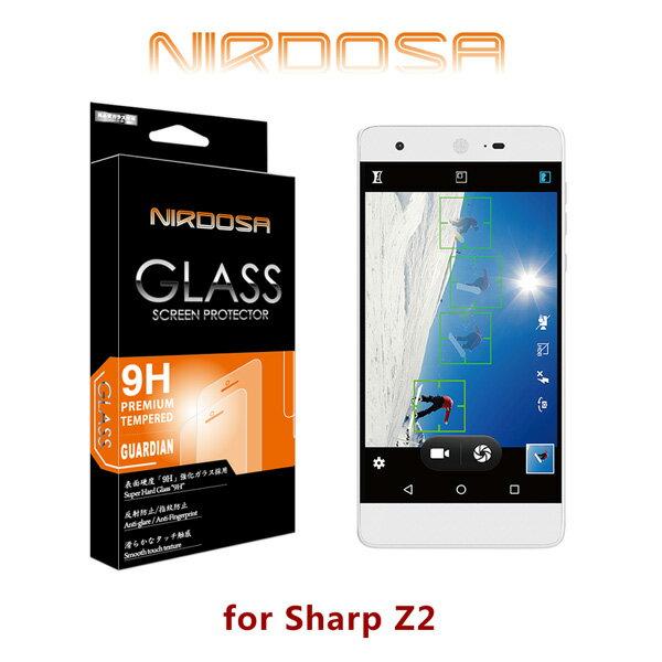 【愛瘋潮】NIRDOSA Sharp Z2 9H 0.26mm 鋼化玻璃 螢幕保護貼