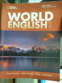 【書寶二手書T2/語言學習_PHM】World English 1_Martin Milner_有CD