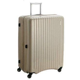 【加賀皮件】CROWN皇冠 SUNCO 19.5吋 輕量靜音拉鍊式拉桿 行李箱 旅行箱 CFB060