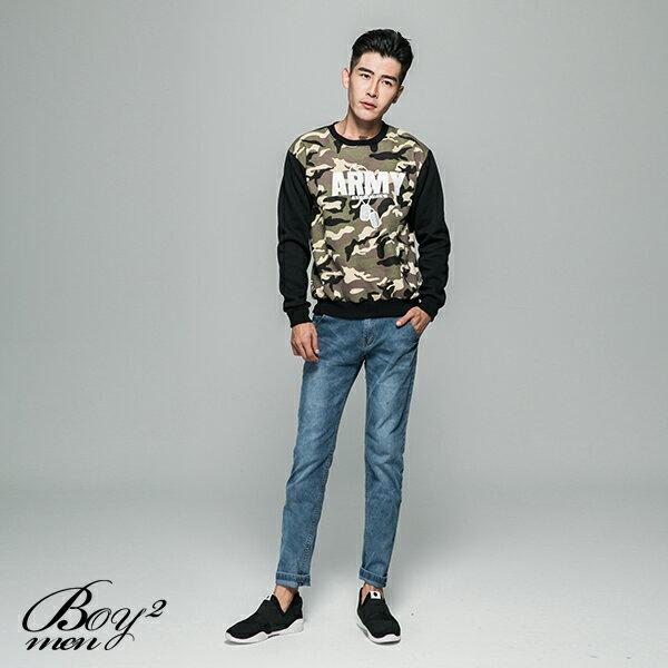 ☆BOY-2☆【JJ224】刷毛迷彩ARMY長T恤 2