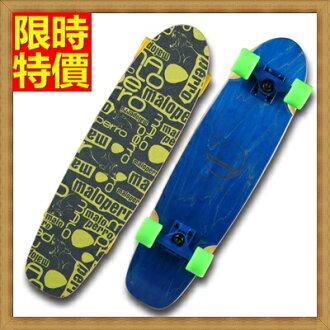 滑板 成人公路板戶外用品-3D立體酷炫圖案運動蛇板5色66ah33【獨家進口】【米蘭精品】