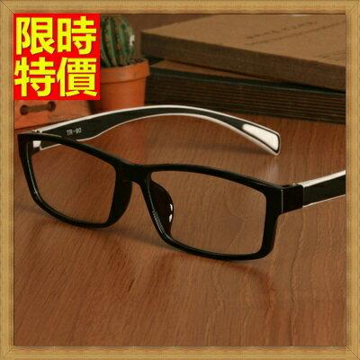 眼鏡框眼鏡架-時尚多彩酷炫撞色男女配件6色67ac2【獨家進口】【米蘭精品】