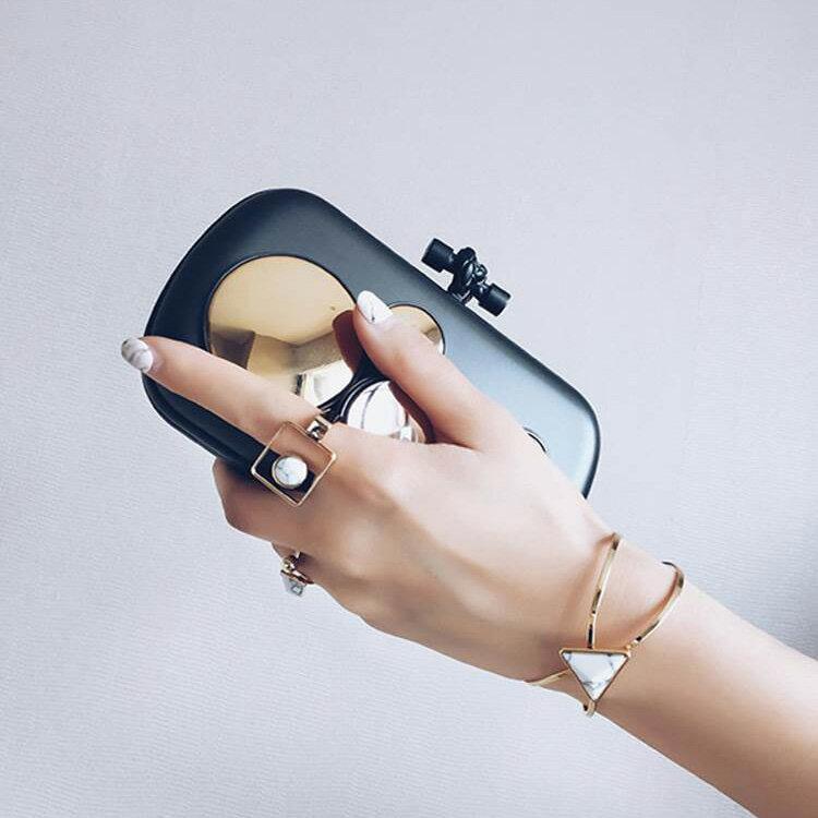 戒指 個性紋理珠珠金屬風戒指【TSWD578】 BOBI  07/07 1