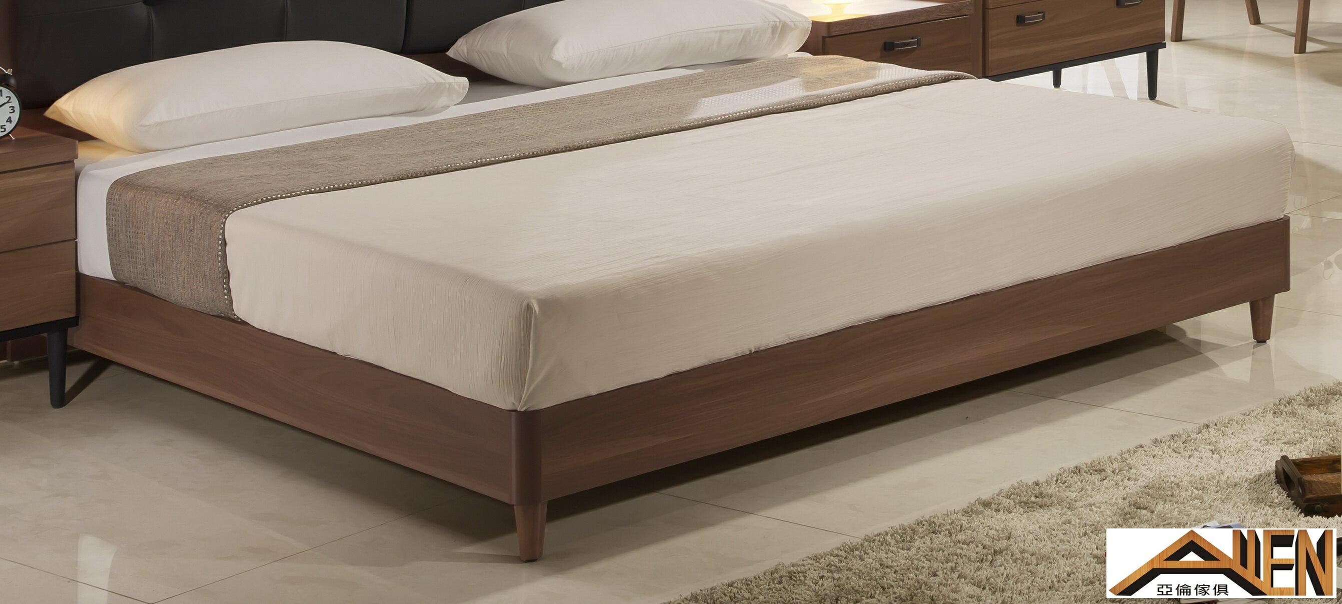 亞倫傢俱*亞當斯安全R角5尺雙人床架 (床頭箱款) 3
