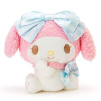 美樂蒂My Melody周邊商品推薦到美樂蔕玩偶絨毛娃娃大緞帶派對系列209233海度
