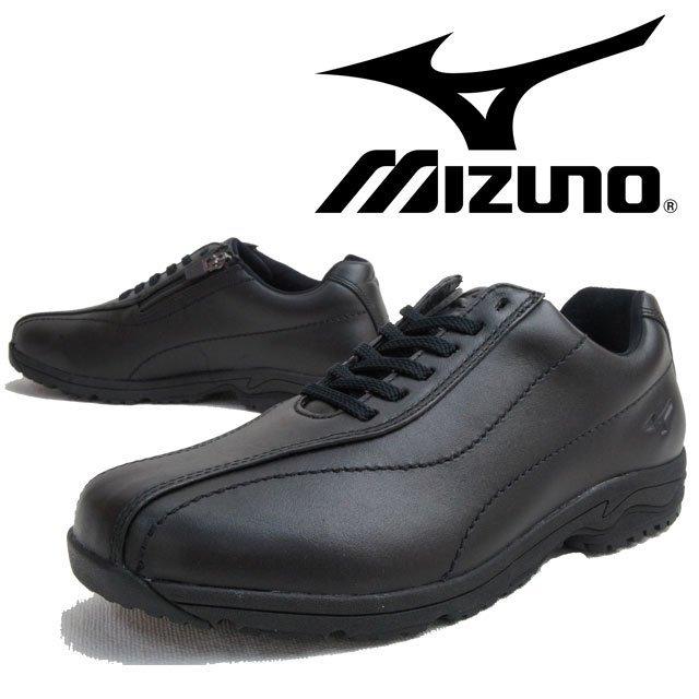Mizuno 日本大人氣 真皮 WAVE避震寬楦健走鞋LD40 Ⅲ(黑色) 0