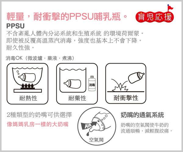 Richell利其爾 - PPSU吸管型哺乳瓶 200ml 1