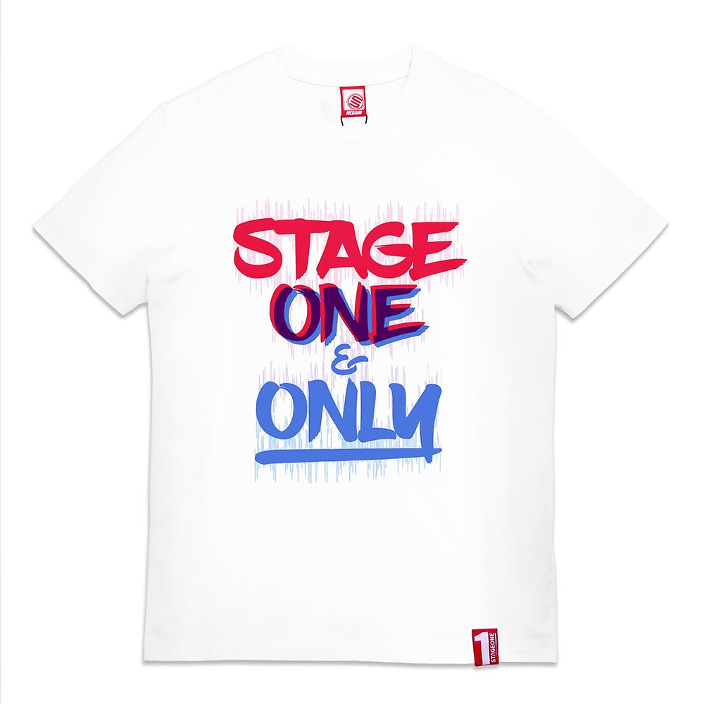 STAGEONE ONE & ONLY BRUSH TEE 黑色 / 白色 兩色 6