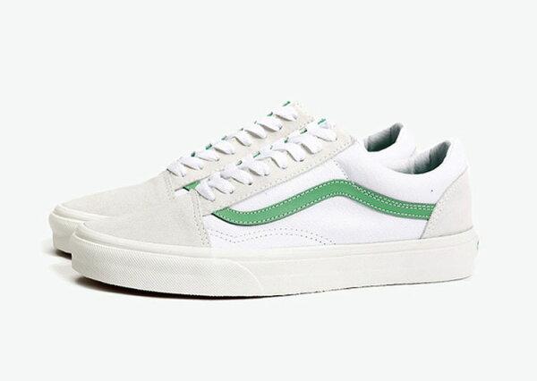 Vans 50週年紀念版莫吉托 绿色 Old Skool板鞋 學生休閒鞋 3544