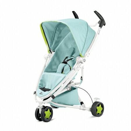 【微瑕疵】【贈提籃】荷蘭【Quinny】Zapp Xtra2 Miami 嬰兒推車(白管) 1