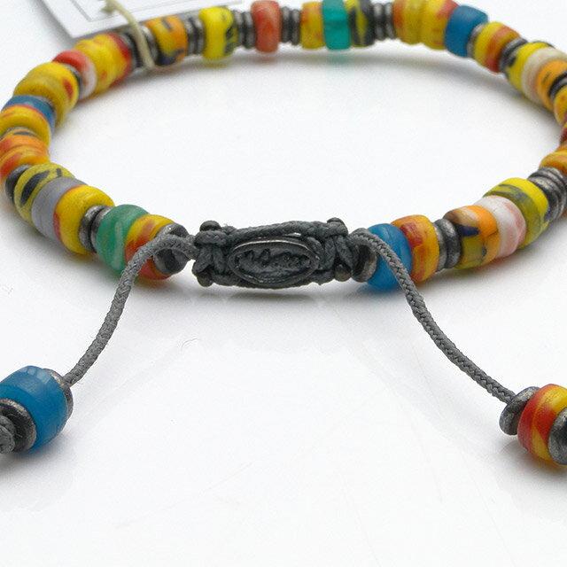 【現貨商品】【M.Cohen】非洲剛果仿舊串珠手環 (MC-B-101061-SLV 07165100OK ) 1