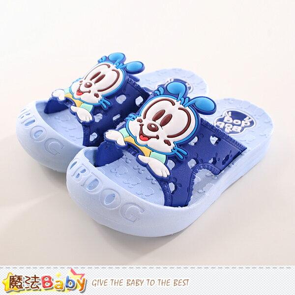 兒童拖鞋 BOB DOG正版兒童護趾拖鞋 魔法Baby~sh9851
